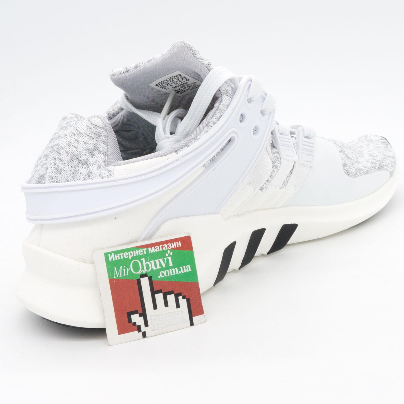 фото back Кроссовки Adidas Equipment Support (EQT) белые с серым 2. Топ качество! back