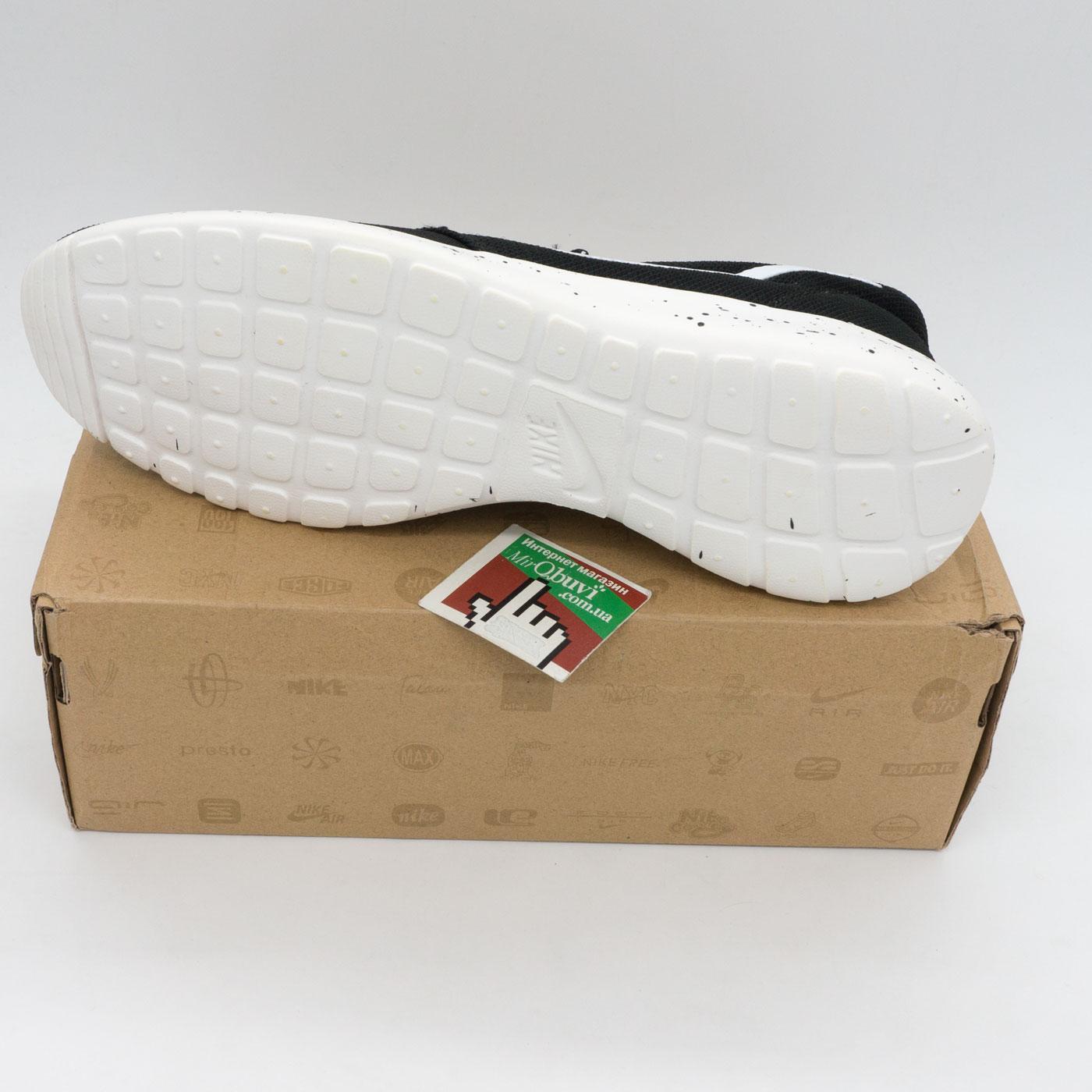 фото bottom Nike Roshe Run черно белые в крапинку. bottom