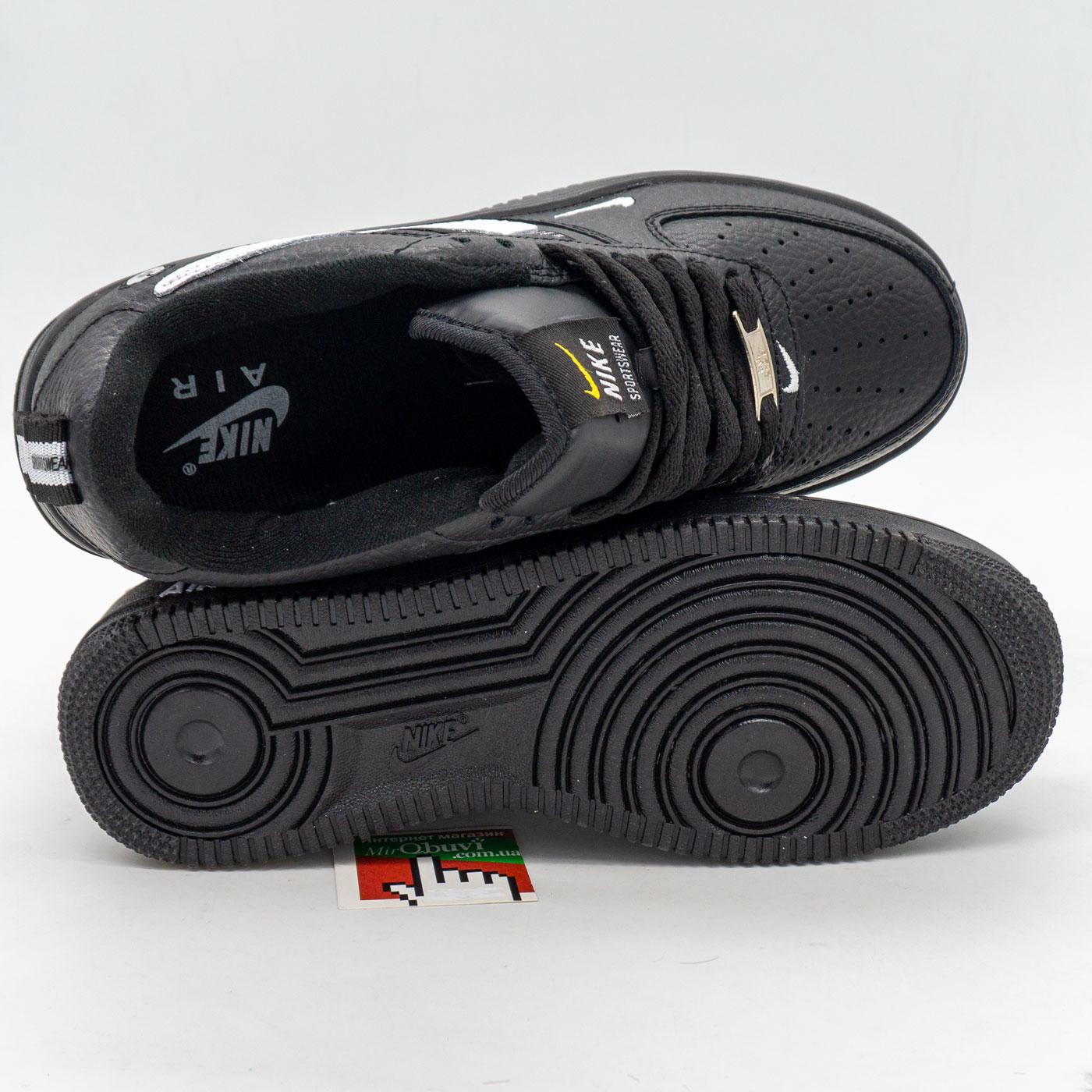 фото front Высокие зеленые кроссовки Nike Air Force  front
