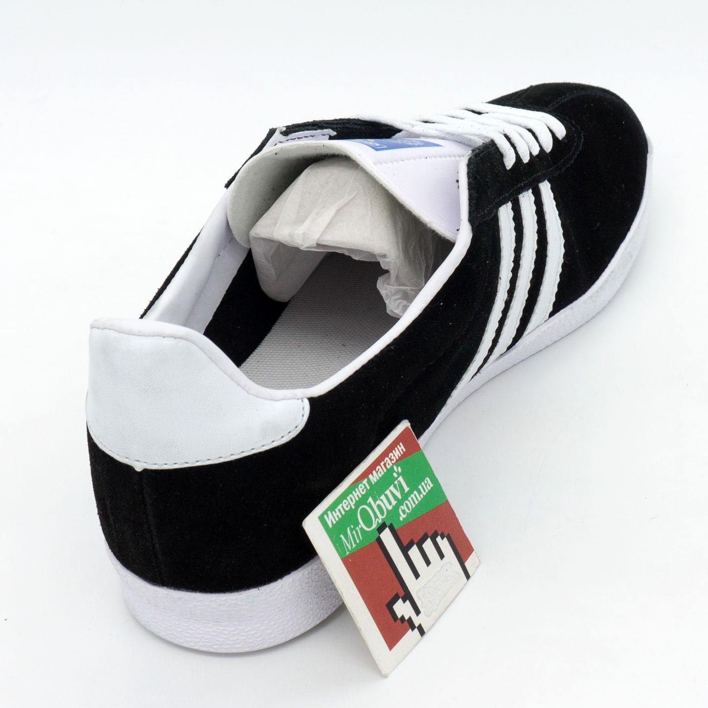 фото back Кроссовки Adidas Gazelle черные. Топ качество! back