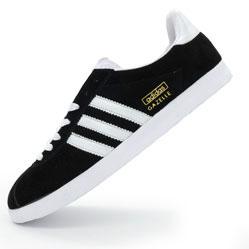 Кроссовки Adidas Gazelle черные. Топ качество!