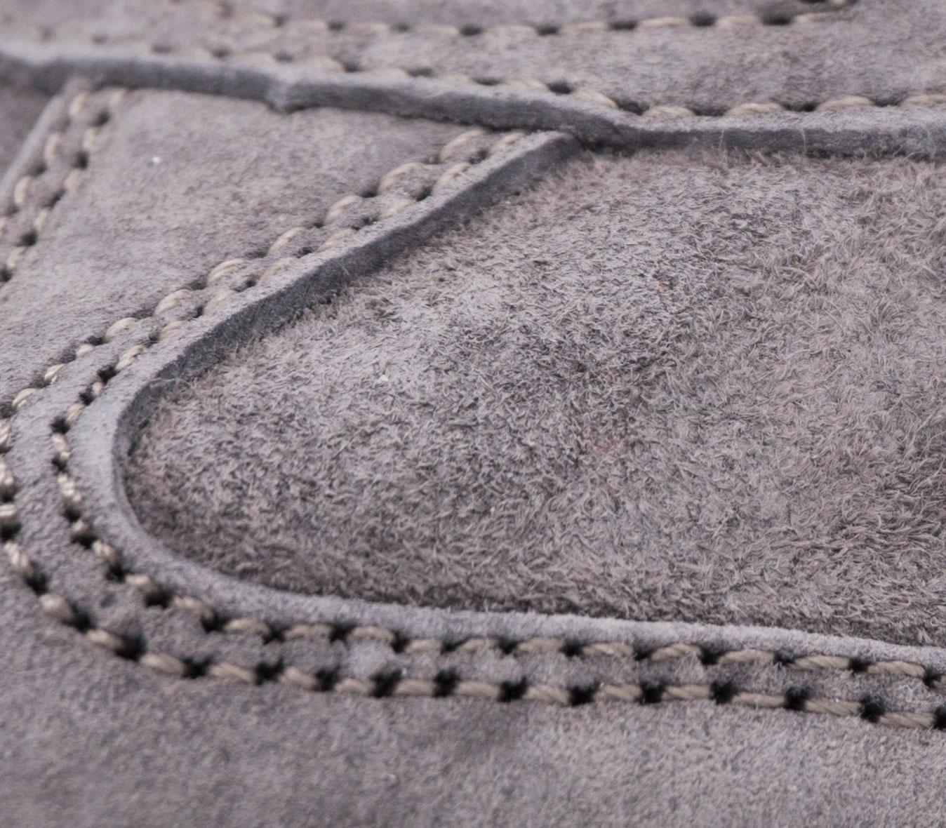 большое фото №6 Кроссовки Adidas Hamburg серые - Натуральная замша - Топ качество!