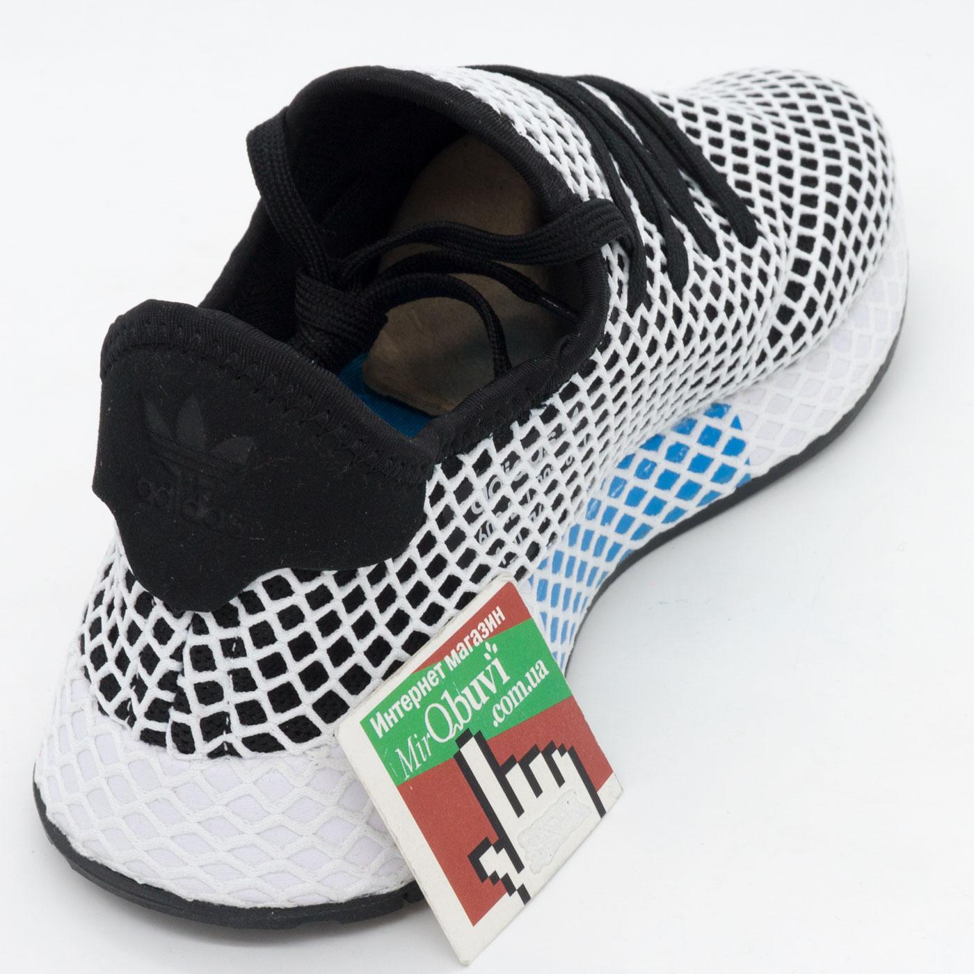 фото back Кроссовки Adidas Deerupt черные. Топ качество! back