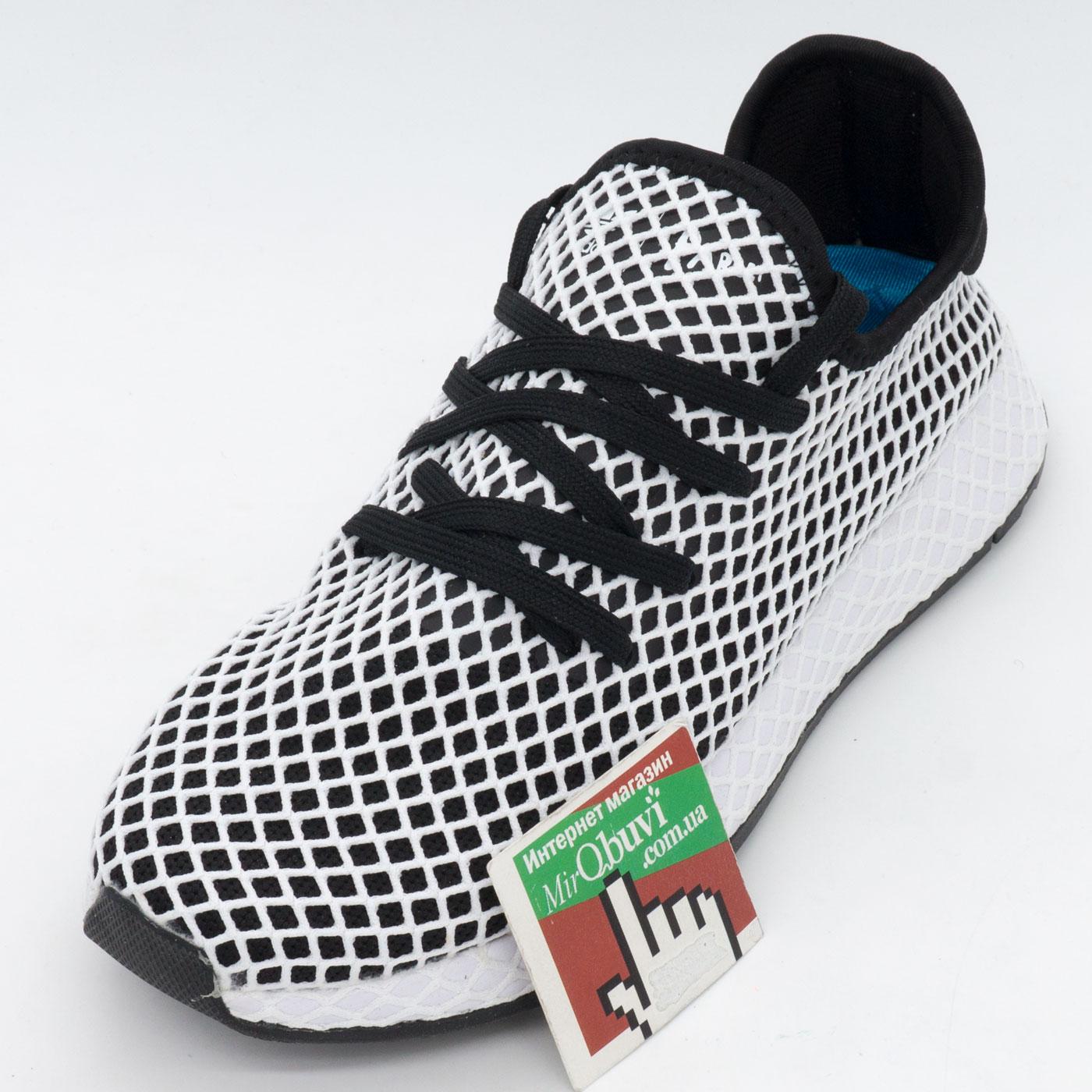 фото front Кроссовки Adidas Deerupt черные. Топ качество! front