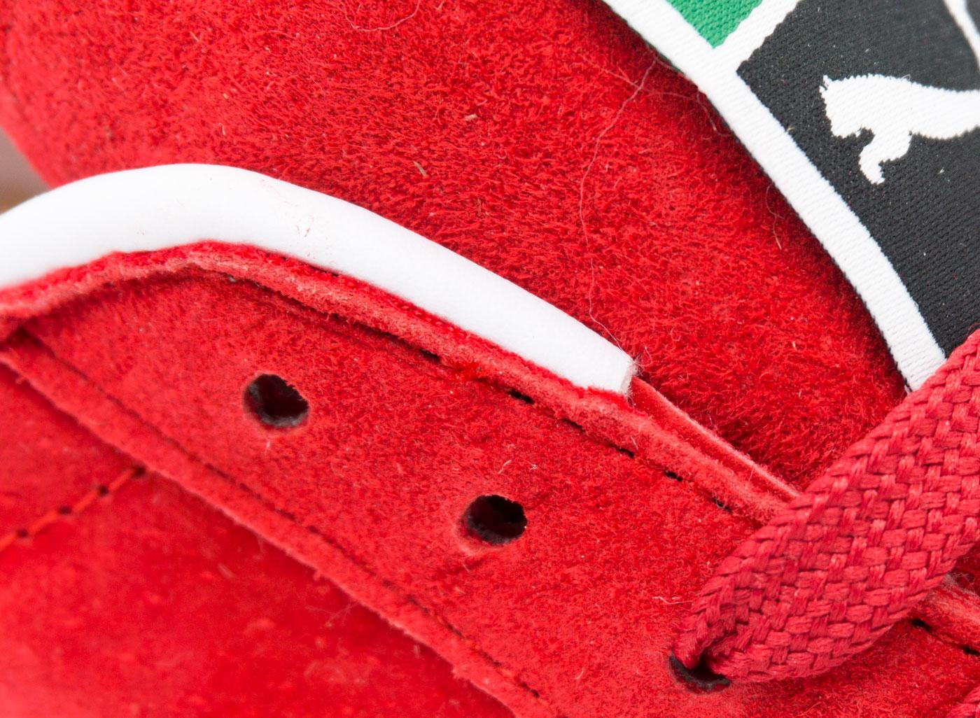 большое фото №5 Кроссовки Puma Suede Пума Суеде красные, натуральная замша,  Топ качество!