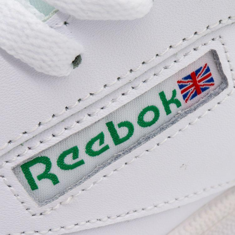 большое фото №5 Кроссовки Reebok Сlassic Club C 85 белые, натуральная кожа - Топ качество!
