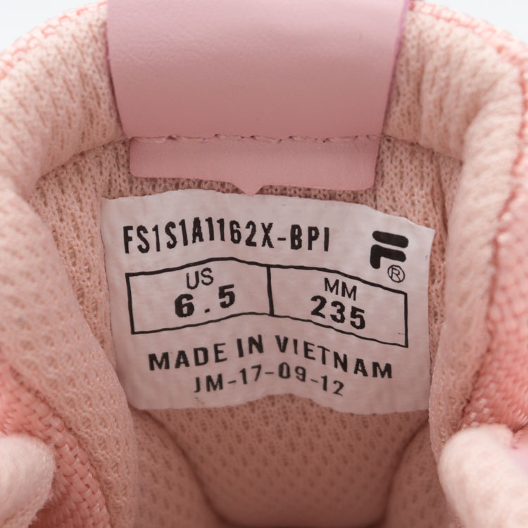 большое фото №6 Женские розовые кроссовки FILA Ray. Топ качество!