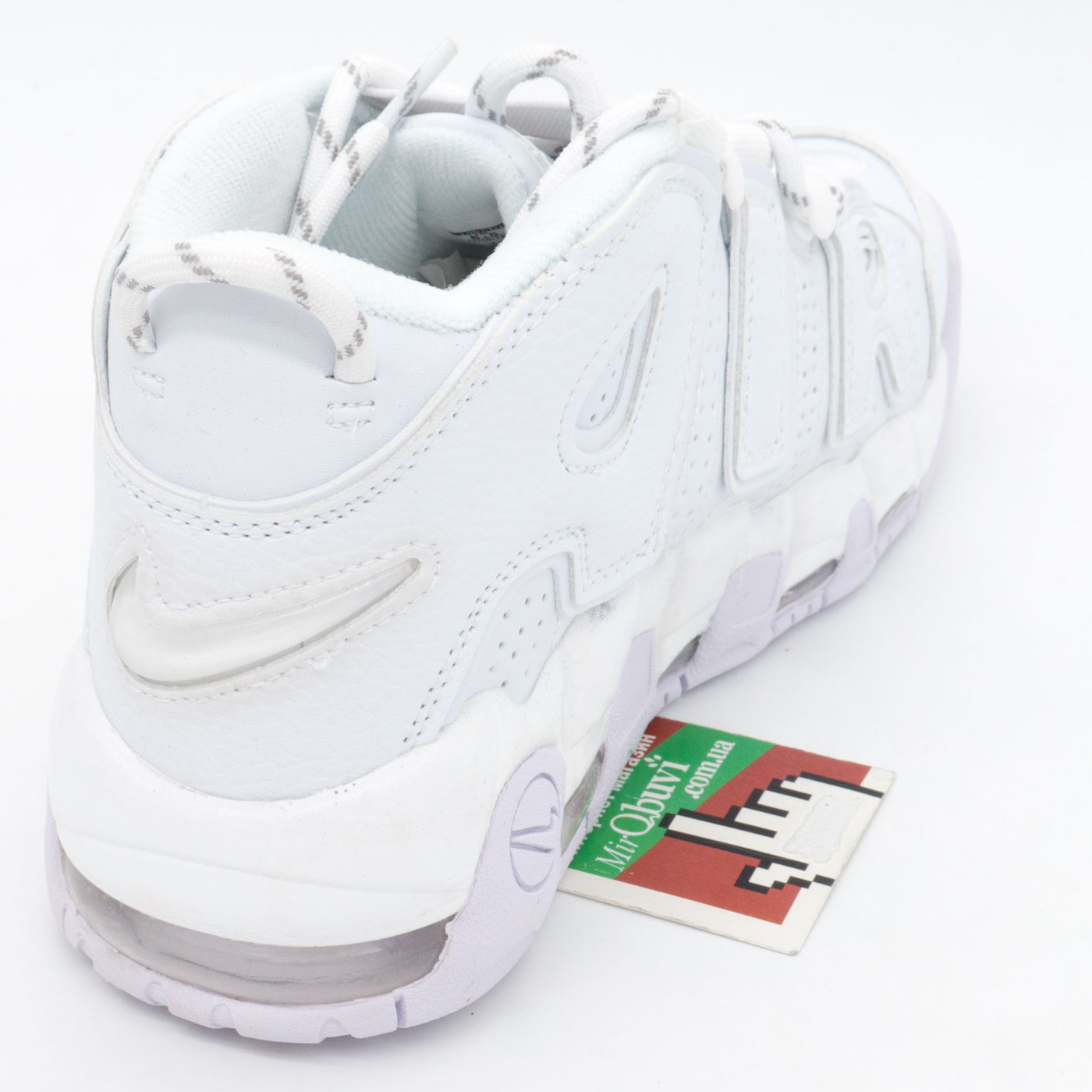 фото back Кроссовки Nike Air More Uptempo белые. Топ качество! back
