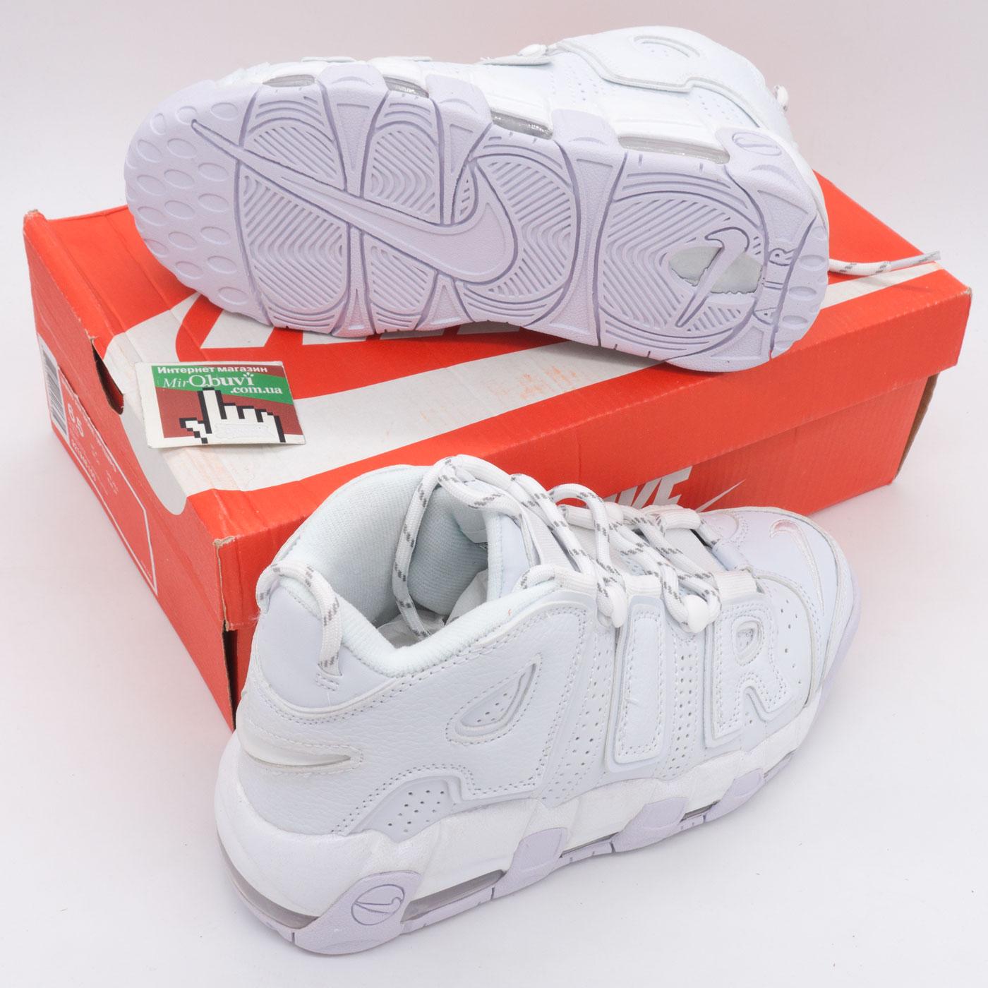 фото bottom Кроссовки Nike Air More Uptempo белые. Топ качество! bottom