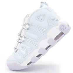Кроссовки Nike Air More Uptempo белые. Топ качество!