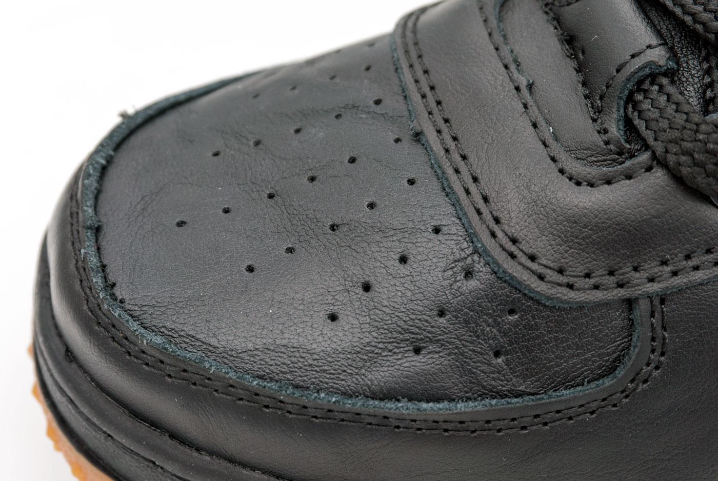 большое фото №6 Высокие кроссовки Nike Lunar Force 1 черные AIR FORCE