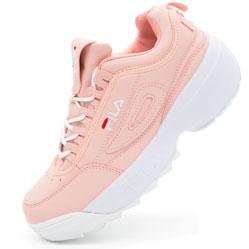 Женские розовые кроссовки FILA Disruptor 2 - China