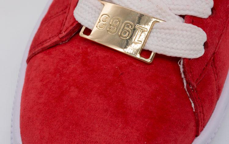большое фото №5 Кроссовки Puma Suede 50 красные, натуральная замша,  Топ качество!