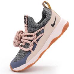 Женские кроссовки Nike City Loop серо-розовые. Топ качество!