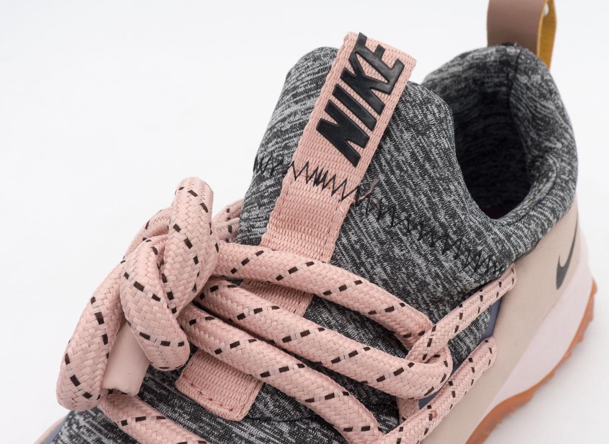 большое фото №5 Женские кроссовки Nike City Loop серо-розовые. Топ качество!