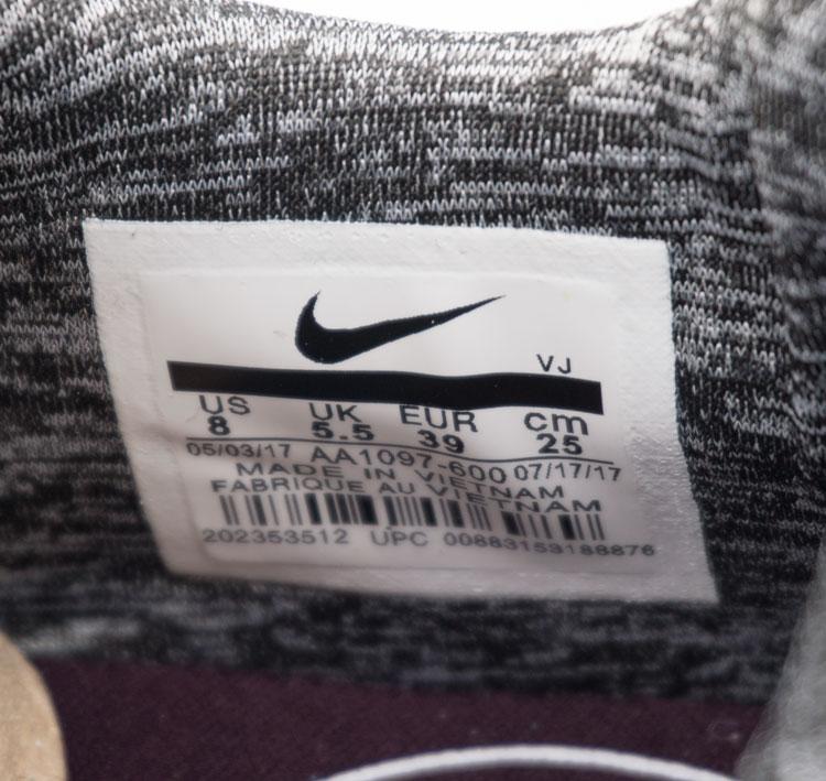 большое фото №6 Женские кроссовки Nike City Loop серо-розовые. Топ качество!
