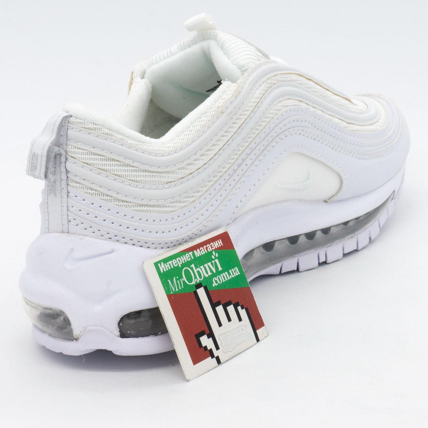фото back Кроссовки Nike air max 97 белые. Топ качество! back