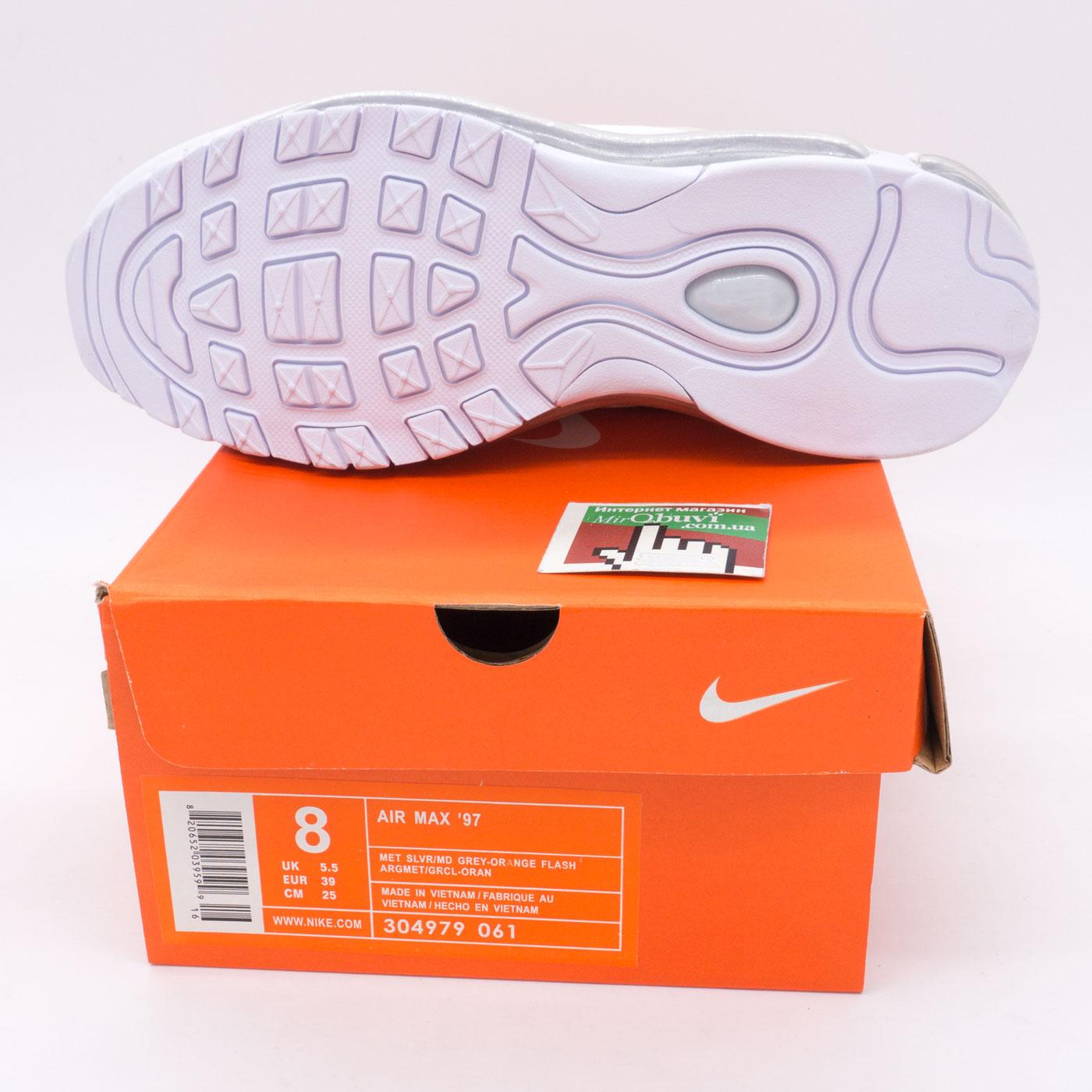фото bottom Кроссовки Nike air max 97 белые. Топ качество! bottom