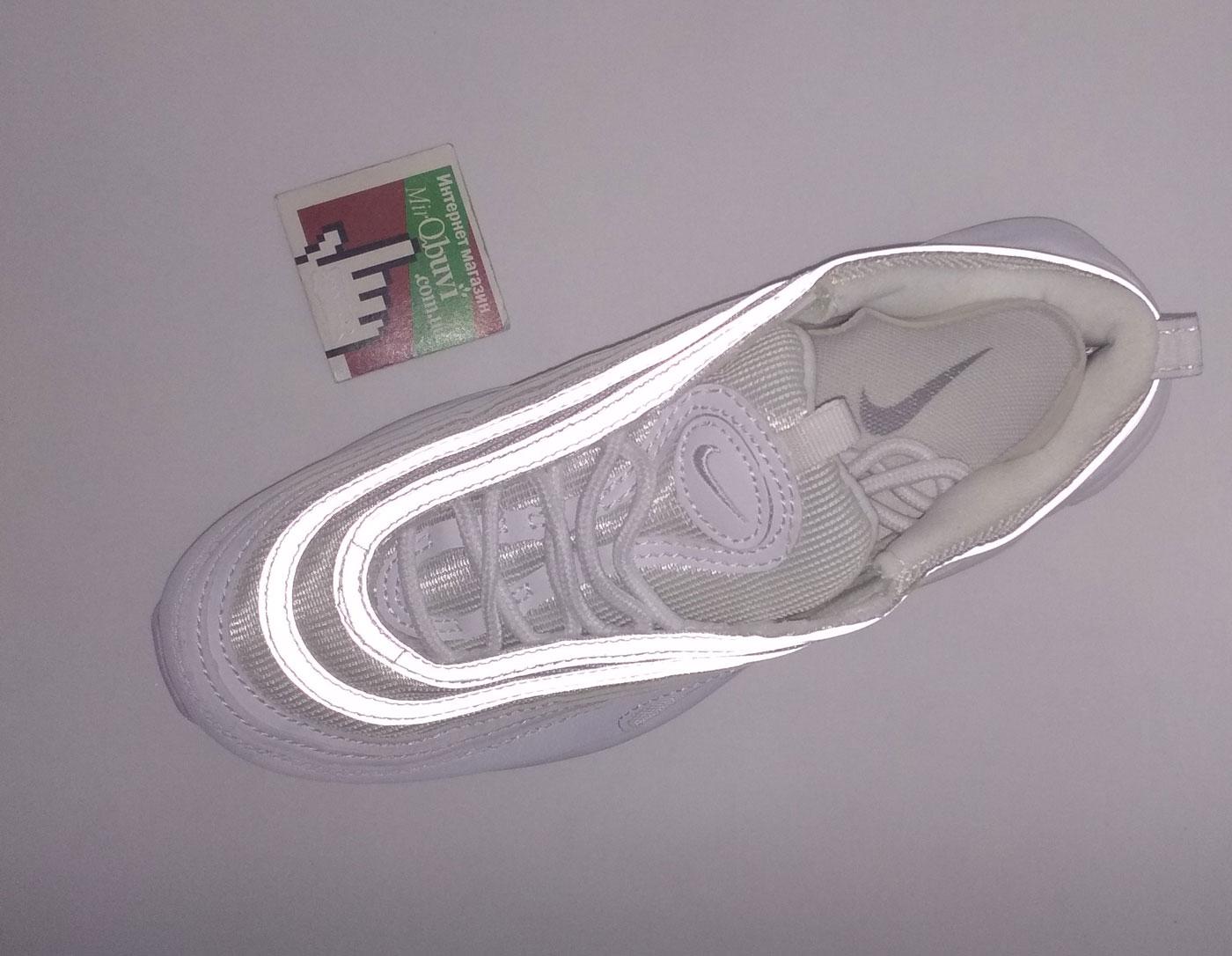 большое фото №5 Кроссовки Nike air max 97 белые. Топ качество!