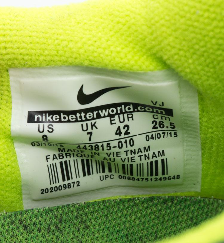 большое фото №6 Кроссовки для бега Nike Free Run 2 Найк Фри Ран, серо-зеленые