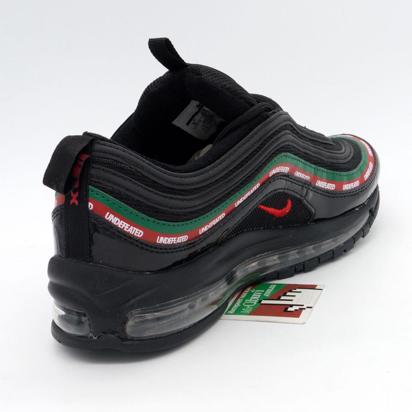 фото back Черные кроссовки Nike air max 97 UNDFTD. Топ качество! back