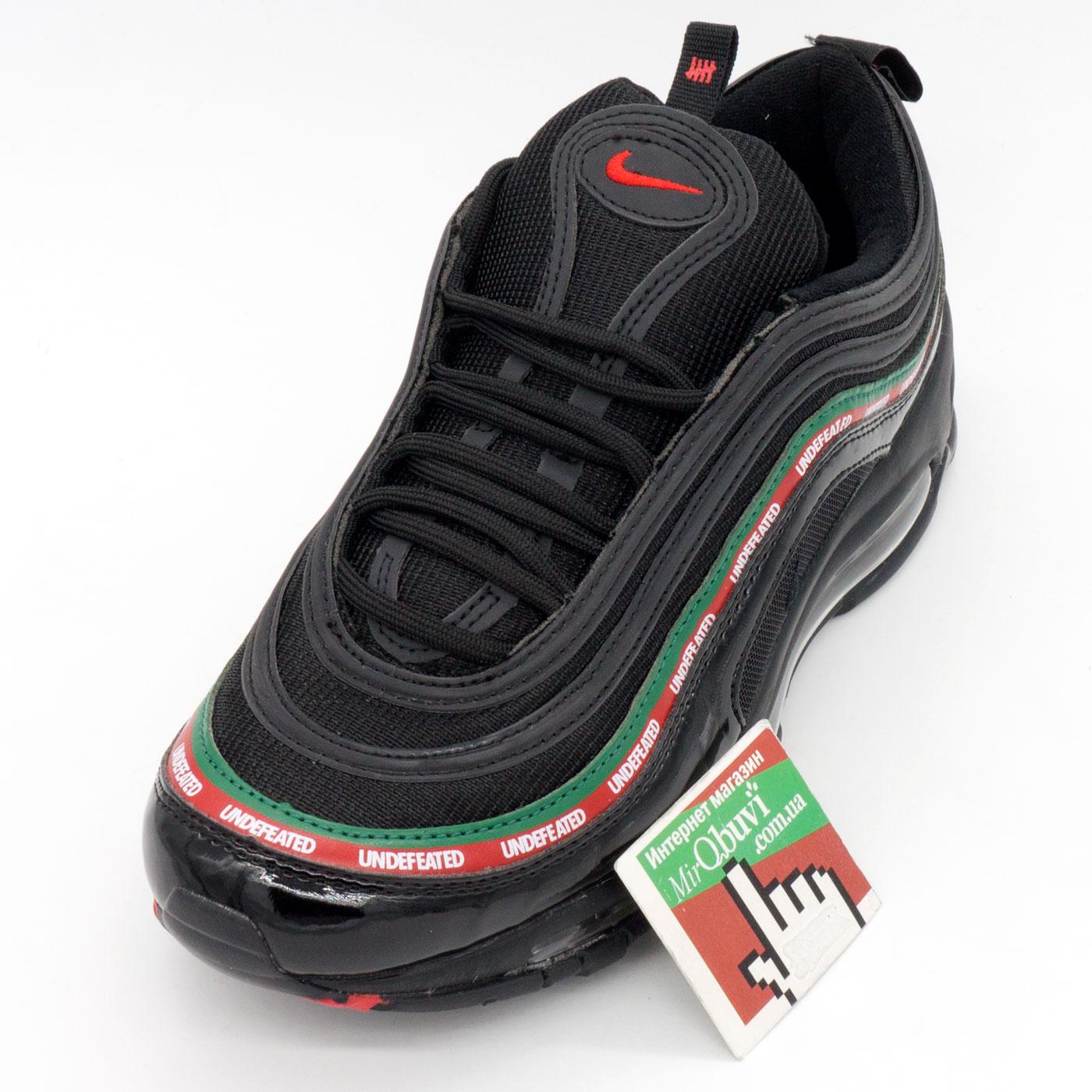 фото front Черные кроссовки Nike air max 97 UNDFTD. Топ качество! front