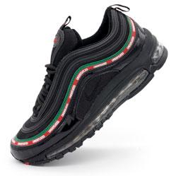 Черные кроссовки Nike air max 97 UNDFTD. Топ качество!