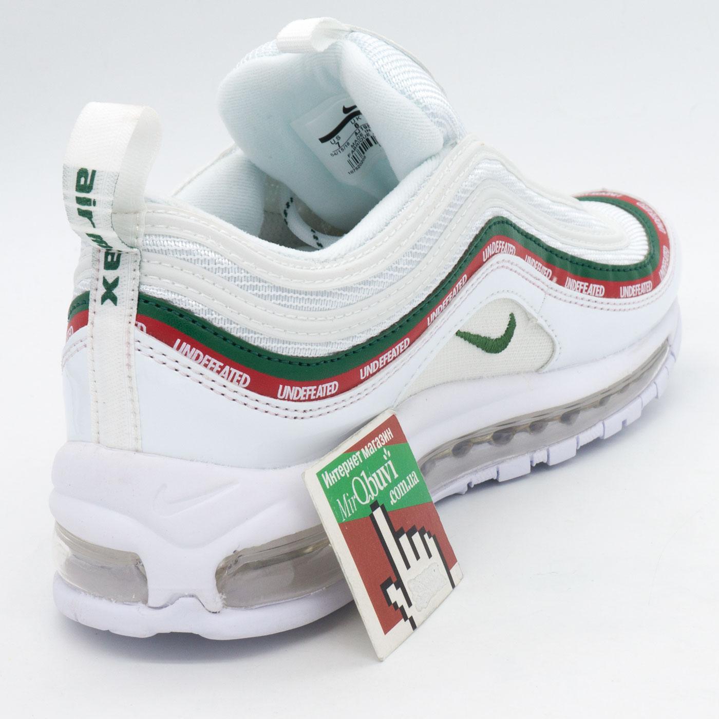 фото back Белые кроссовки Nike air max 97 UNDFTD. Топ качество! back