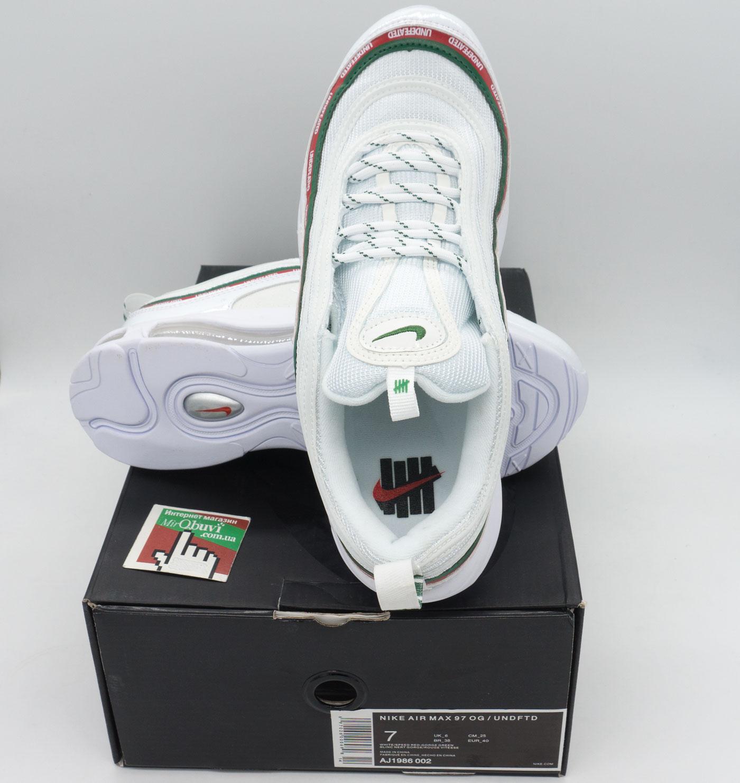фото bottom Белые кроссовки Nike air max 97 UNDFTD. Топ качество! bottom