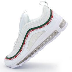 Белые кроссовки Nike air max 97 UNDFTD. Топ качество!