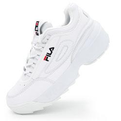 Женские белые кроссовки FILA Disruptor 2 Vietnam
