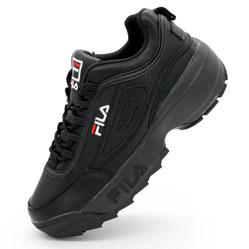 Женские черные кроссовки FILA Disruptor 2 Vietnam