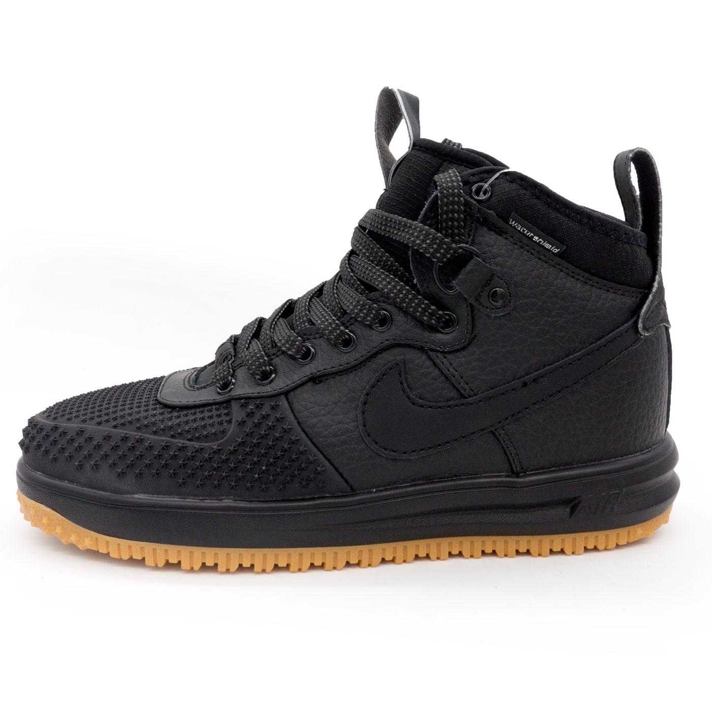 фото main Высокие черные кроссовки Nike Lunar Force 1 Duckboot. Топ качество! main