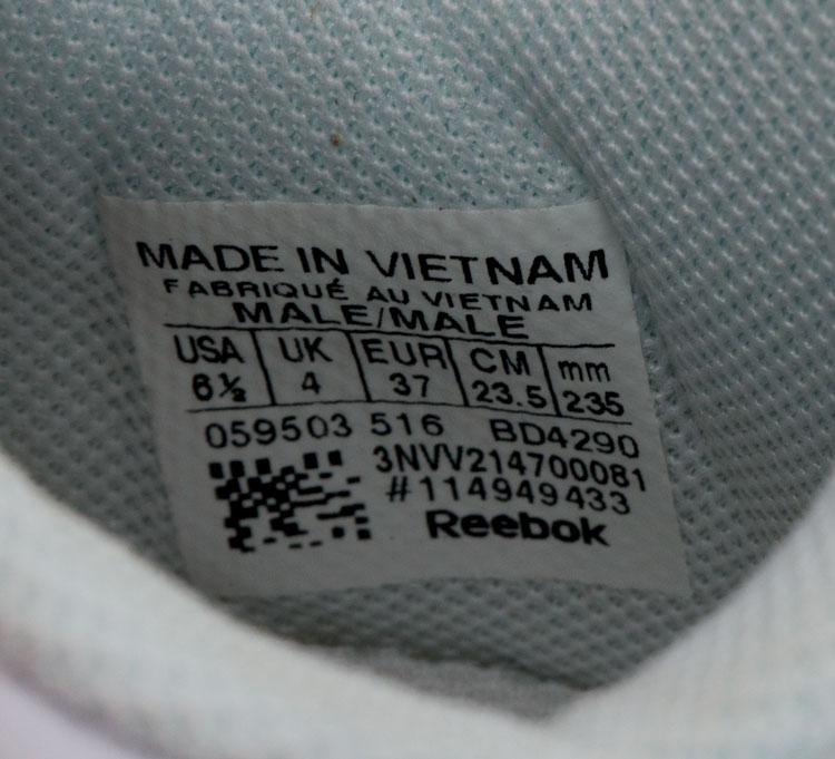 большое фото №6 Женские белые кроссовки Reebok classic leather серебристые