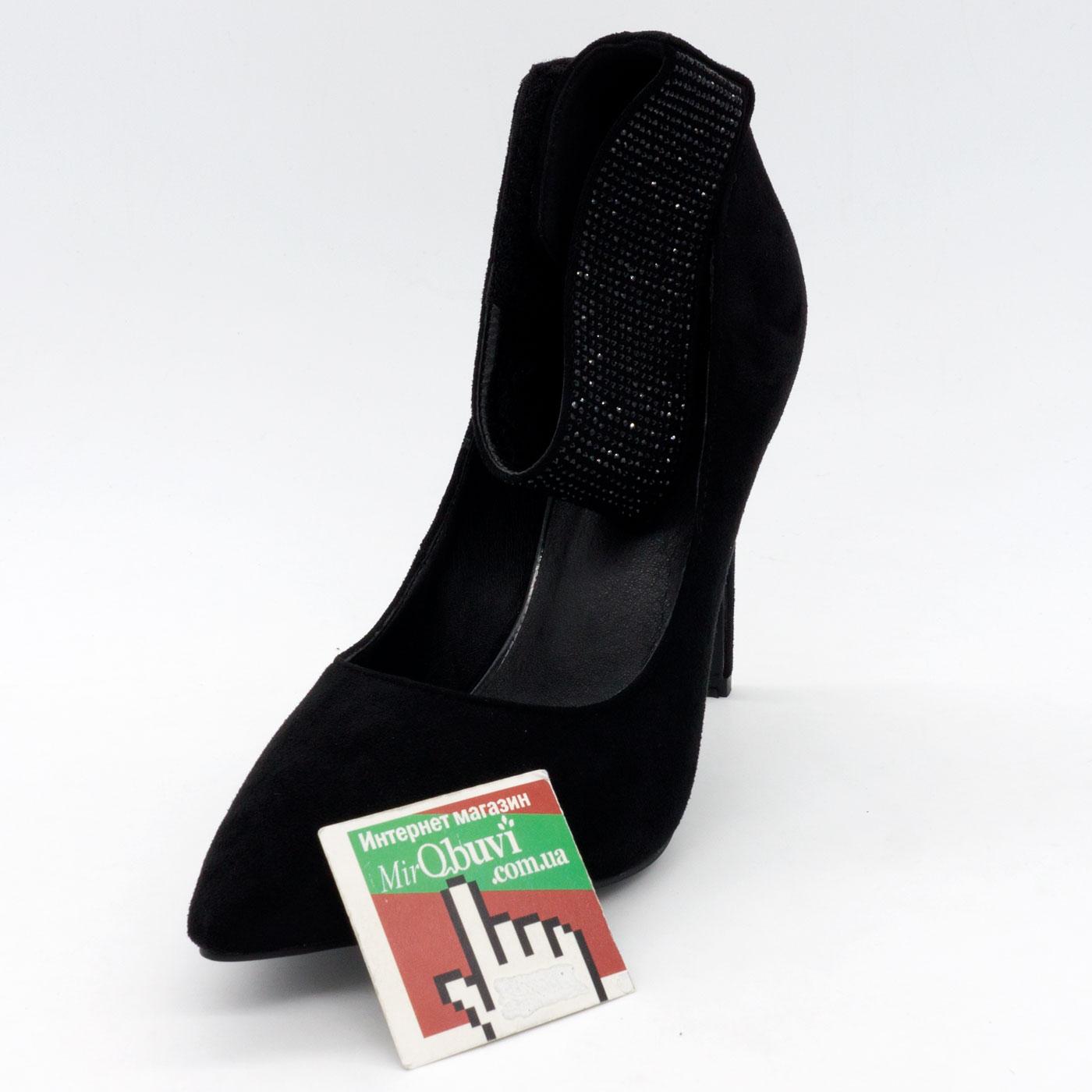 фото front Женские туфли LIICI F1010-T66-1 черные front