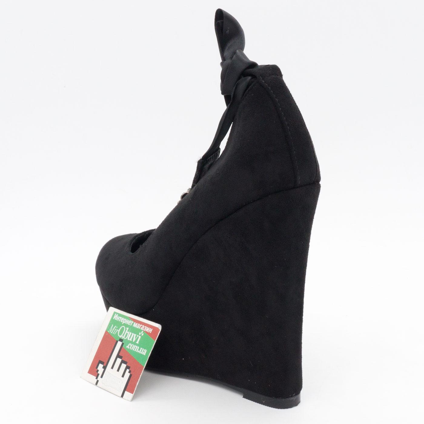 фото back Женские туфли LIICI 2098-X8141 черные на платформе  back