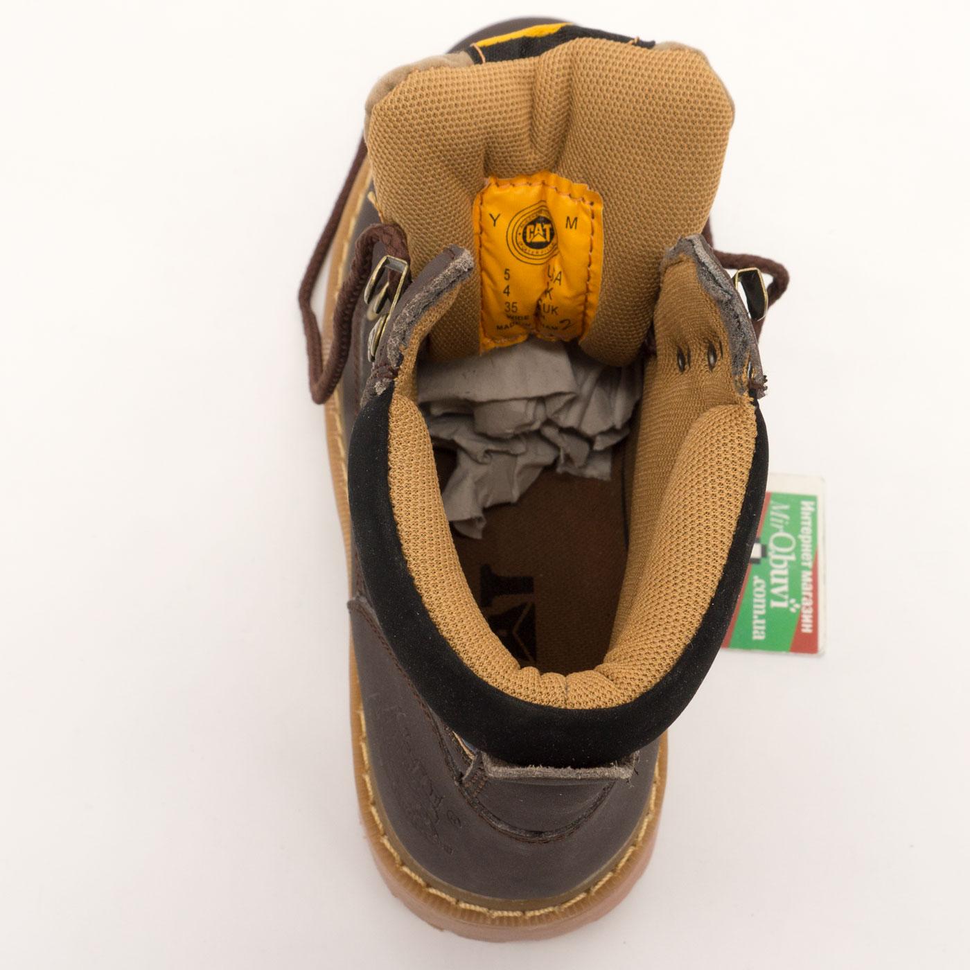 большое фото №5 Коричневые женские ботинки CAT (катерпиллер)