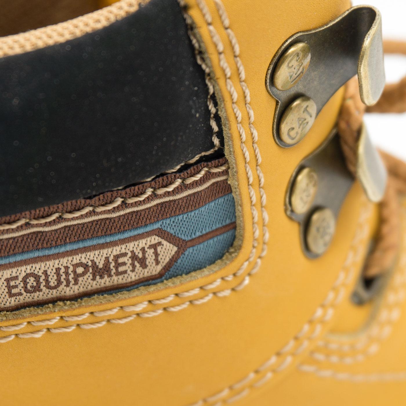 большое фото №5 Желтые женские ботинки CAT (катерпиллер)