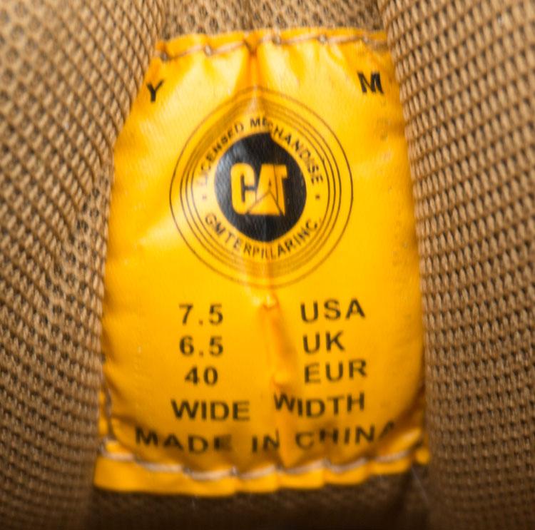 большое фото №6 Желтые женские ботинки CAT (катерпиллер)