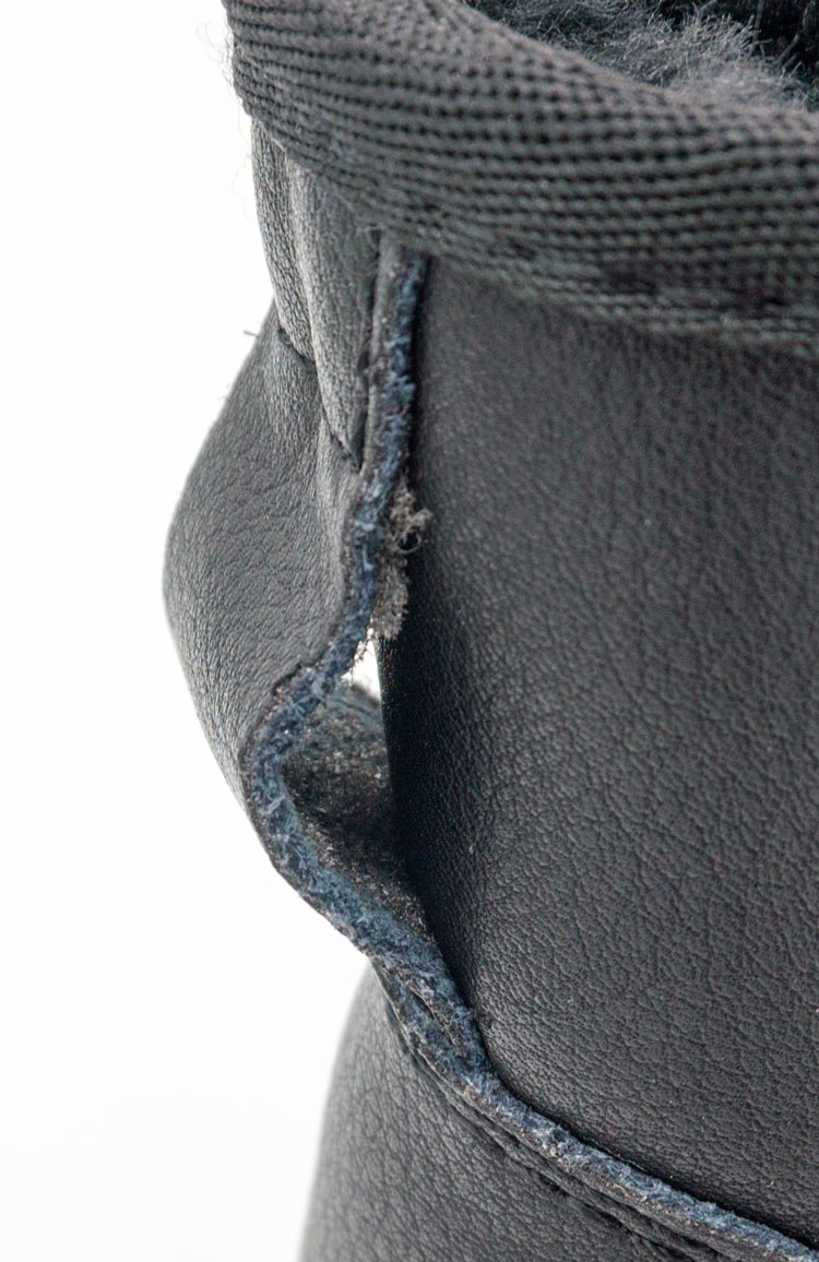 большое фото №5 Мужские черные кожаные Ugg (Уги)