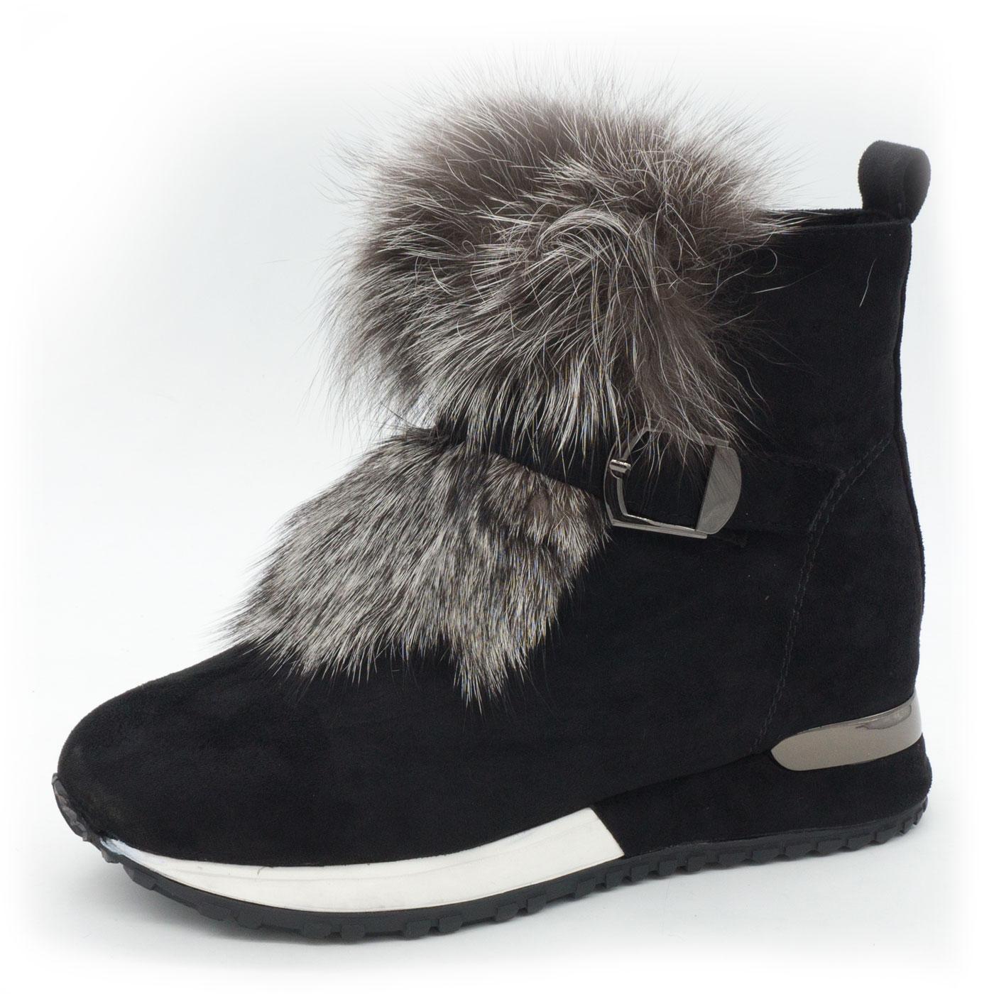 d3480927 Зимние кроссовки LICCI 826-H450M высокие черные, купить LICCI в ...