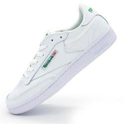 Кроссовки Reebok Сlassic Club C 85 белые.