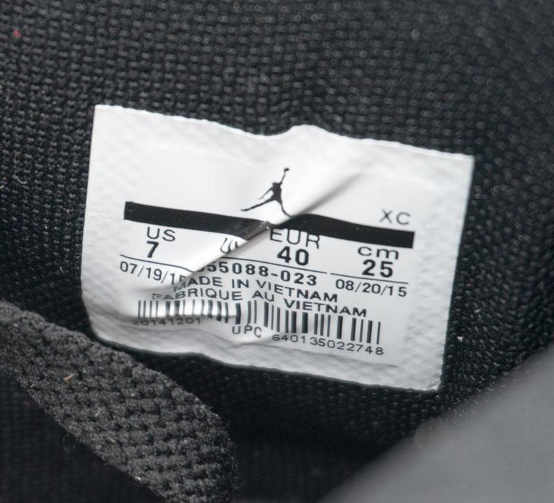 большое фото №6 Высокие черные c красным кроссовки Nike Air Jordan 1 Retro. Топ качество!