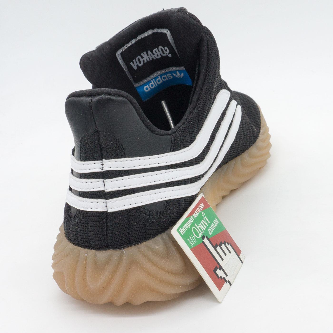 фото back Кроссовки Adidas Sobakov черные. Топ качество! back