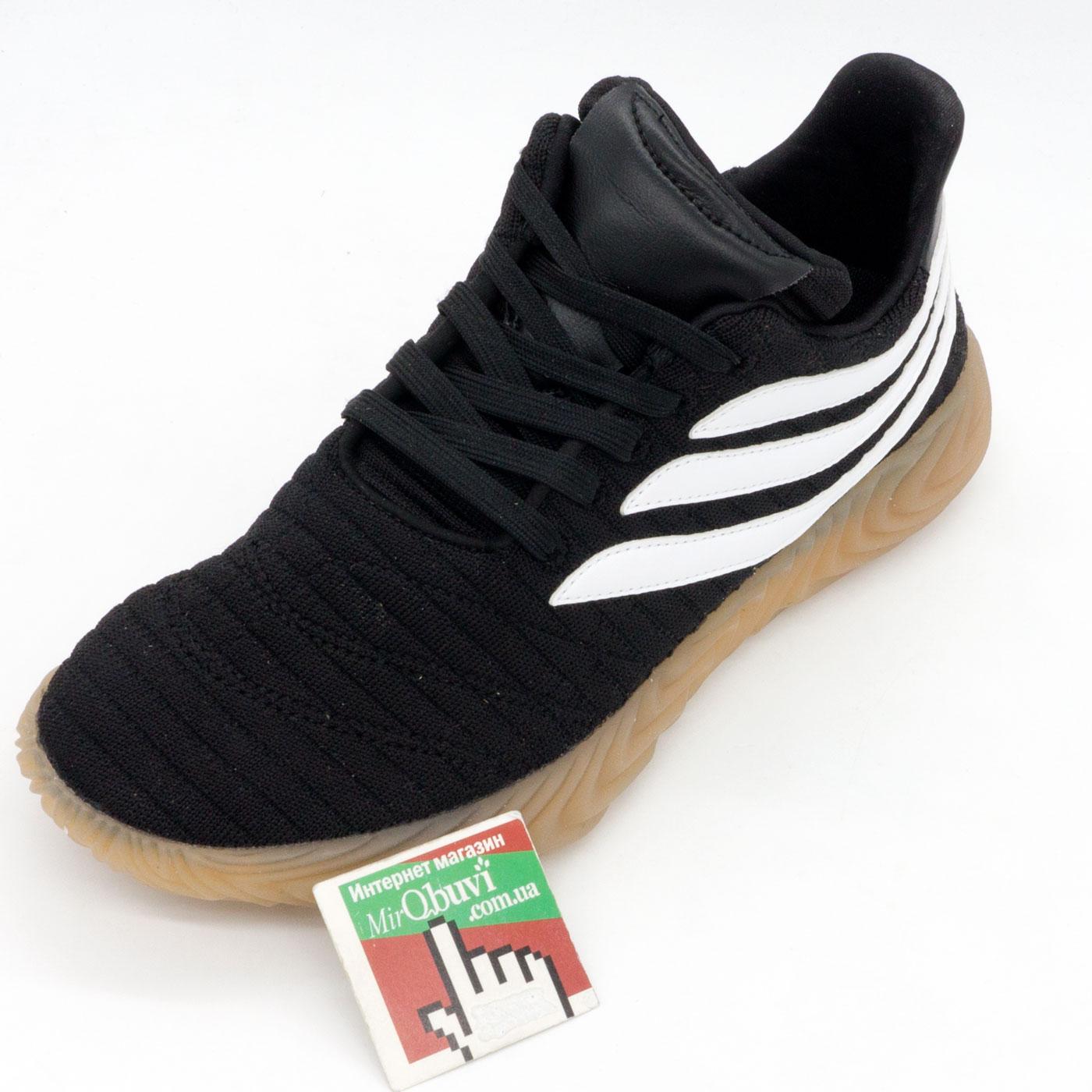 фото bottom Кроссовки Adidas Sobakov черные. Топ качество! bottom