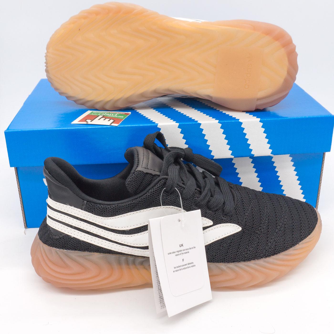 фото front Кроссовки Adidas Sobakov черные. Топ качество! front