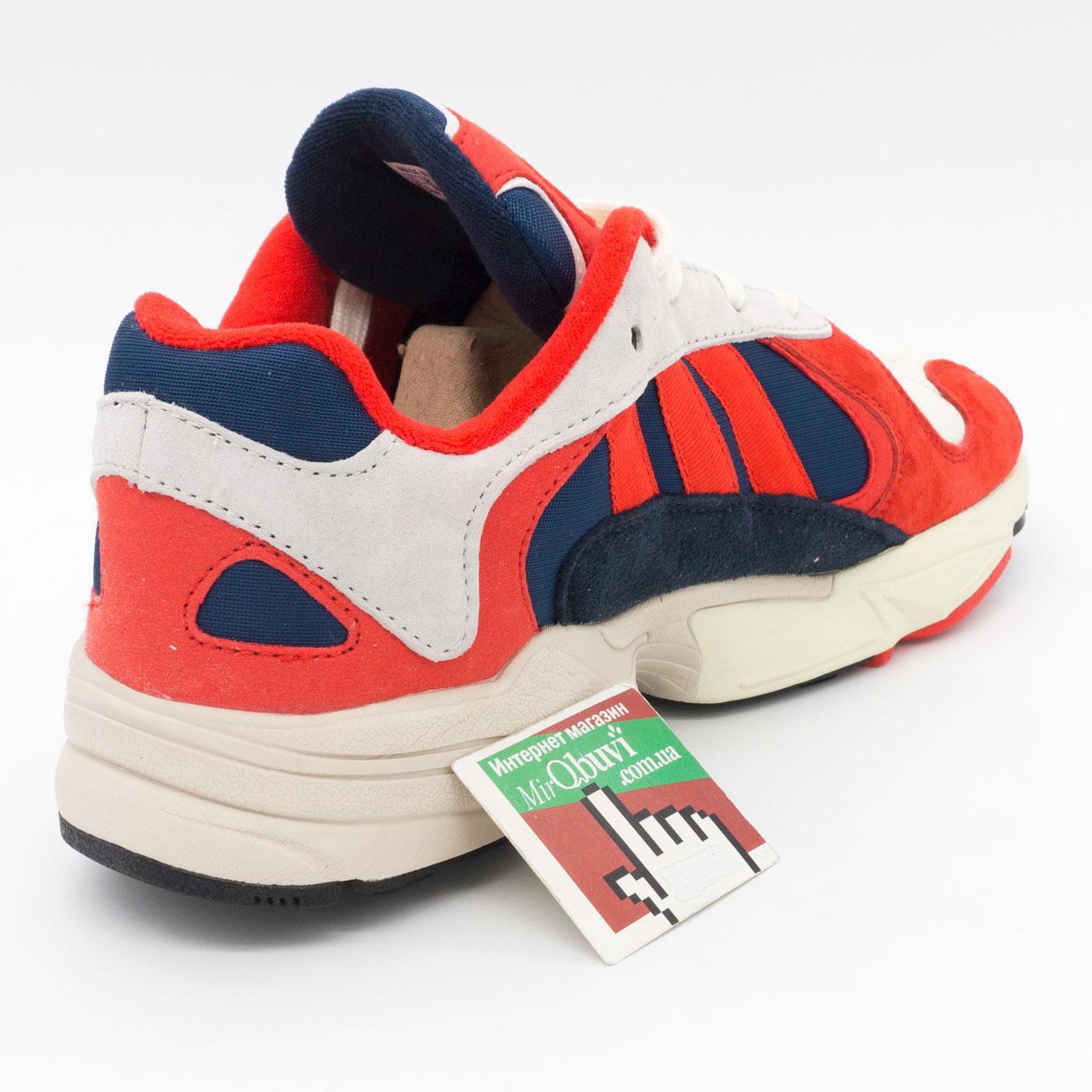 фото bottom Кроссовки Adidas Yung-1 красные, натуральная замша. Топ качество! bottom