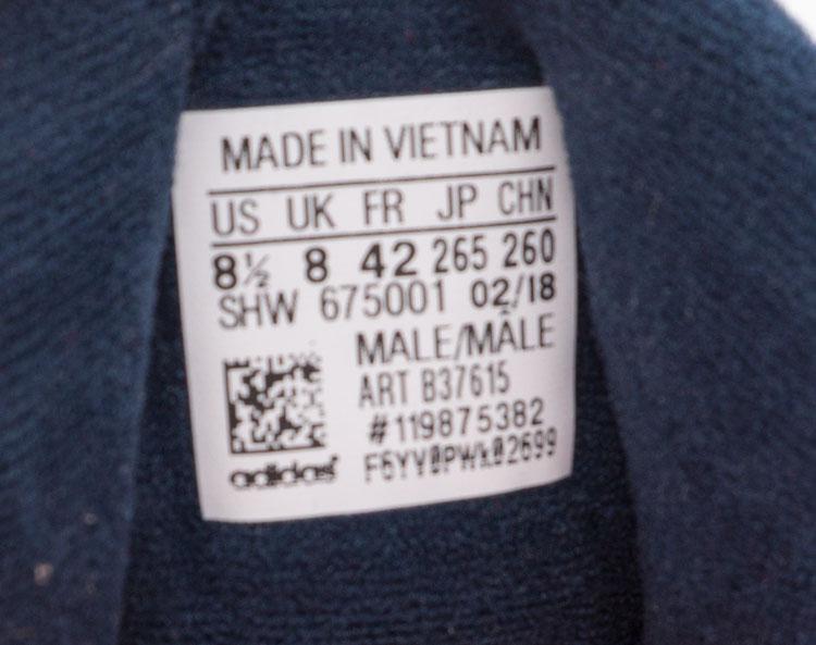 большое фото №5 Кроссовки Adidas Yung-1 красные, натуральная замша. Топ качество!