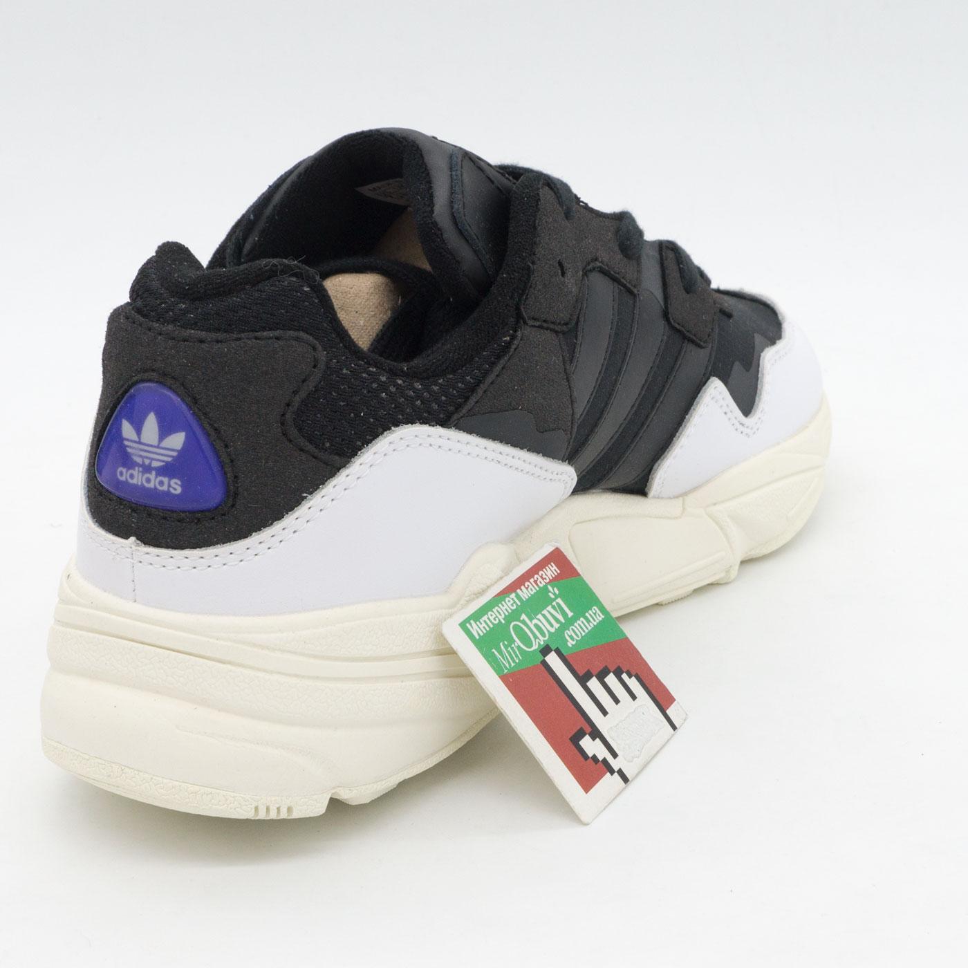 фото back Кроссовки Adidas Yung-96 черно-белые. Топ качество! back