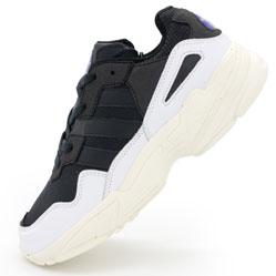 Кроссовки Adidas Yung-96 черно-белые. Топ качество!